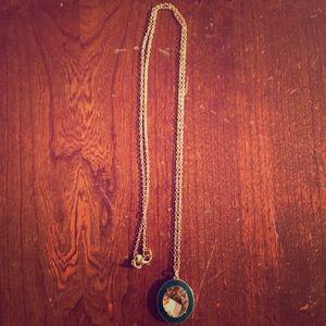 J.Crew gemstone necklace